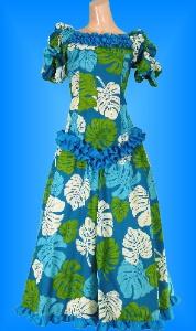 フラダンス衣装ムームー MU03b5の詳細画像を見る