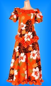 フラダンス衣装ムームー MU03o3の詳細画像を見る