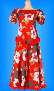 フラダンス衣装ムームー MU03r2の詳細画像見る