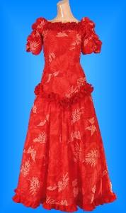 フラダンス衣装ムームー MU03r3の詳細画像見る