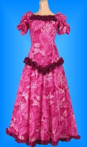 フラダンス衣装ムームー MU03p3の詳細画像を見る