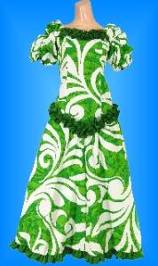 フラダンス衣装ムームー MU03g2の詳細画像を見る