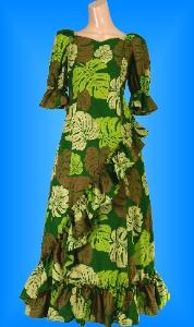 フラダンス衣装ムームー MU04g3の詳細画像を見る