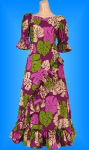 フラダンス衣装ムームー MU04pu3の詳細画像を見る