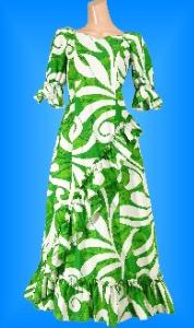 フラダンス衣装ムームー MU04g1の詳細画像見る