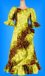 フラダンス衣装ムームー MU04g4の詳細画像を見る