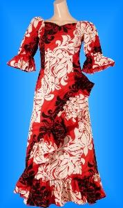 フラダンス衣装ムームー MU04r4の詳細画像を見る