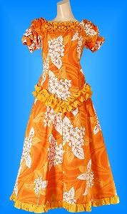 フラダンス衣装ムームー MU03o2の詳細画像を見る