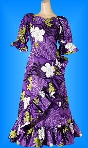フラダンス衣装ムームー MU04pu5の詳細画像を見る