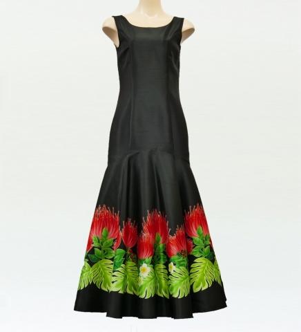 レフアシャンタンドレス ブラック M
