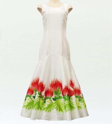 レフアシャンタンドレス ホワイト M
