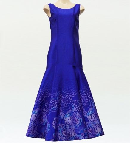 ロケラニシャンタンドレス ブルー M