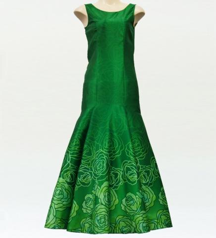 ロケラニシャンタンドレス グリーン M