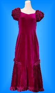 フラダンス衣装ムームー MU01Bwi1の詳細画像を見る