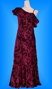 フラダンス衣装ムームー MUB02r1の詳細画像見る