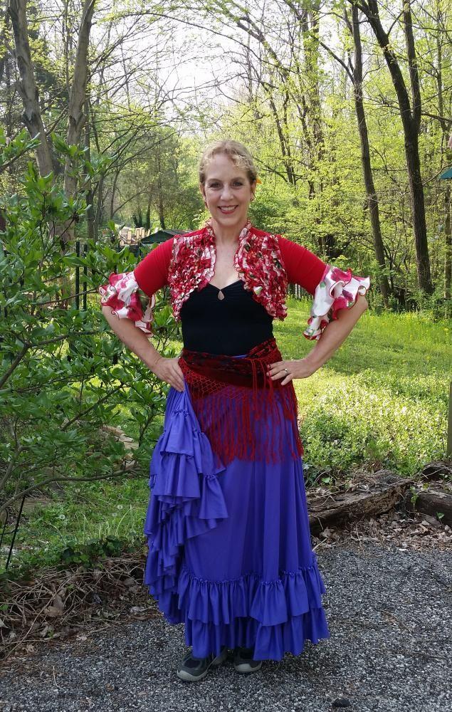 フラメンコ衣装写真