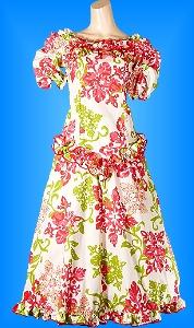 フラダンス衣装ムームー MU03r9の詳細画像を見る